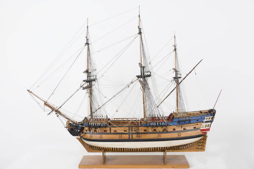 64-gun ship of the line belonging to the Royal Guipuzcoan Company of Caracas.