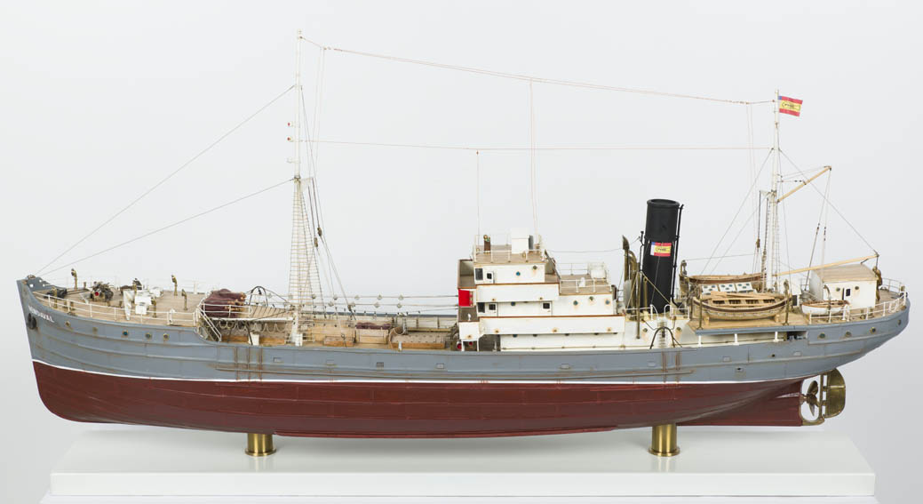 Modelo a escala del bacaladero